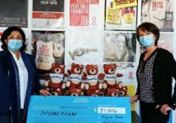 Près de 13 000 peluches solidaires vendues pour Sidaction !